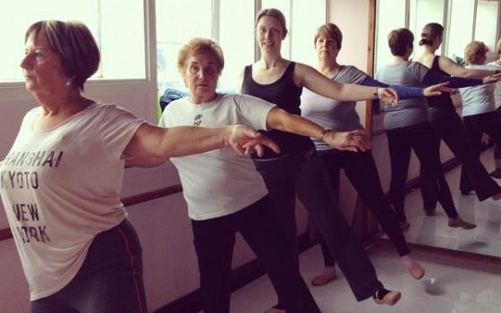 Ballet class 9