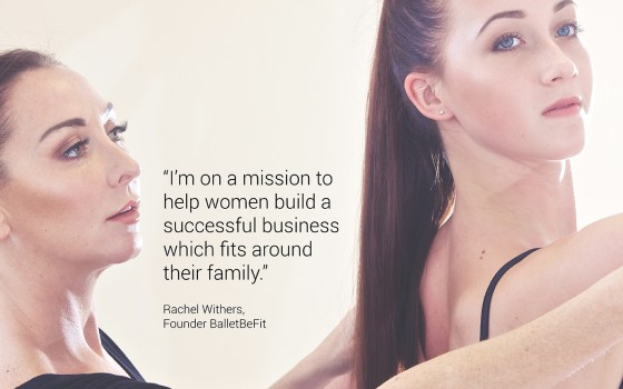 SET UP YOUR OWN FITNESS BUSINESS WITH THE HELP OF RACHEL WITHERS